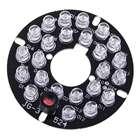 Infrared 24-LED Illuminator Board Plate for 3.6mm Lens CCTV Security Camera