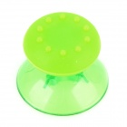 Replacement 3D Joystick Cap + Anti-Slip Cover Set for Xbox One - Translucent Green