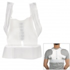 Back Posture Correction Belt - White