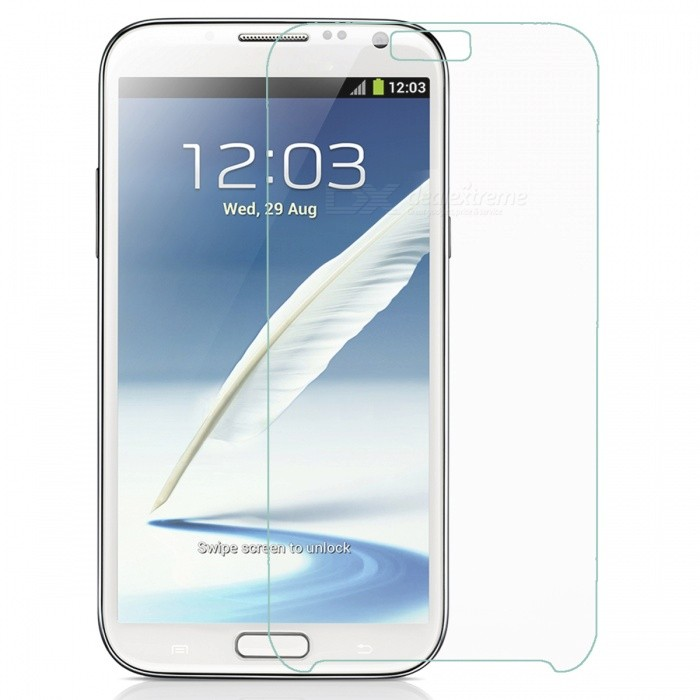 Mr. Northjoe 10811 Protective Tempered Glass Screen Protector for Samsung Note 2 N7100 - Transparent mr northjoe front