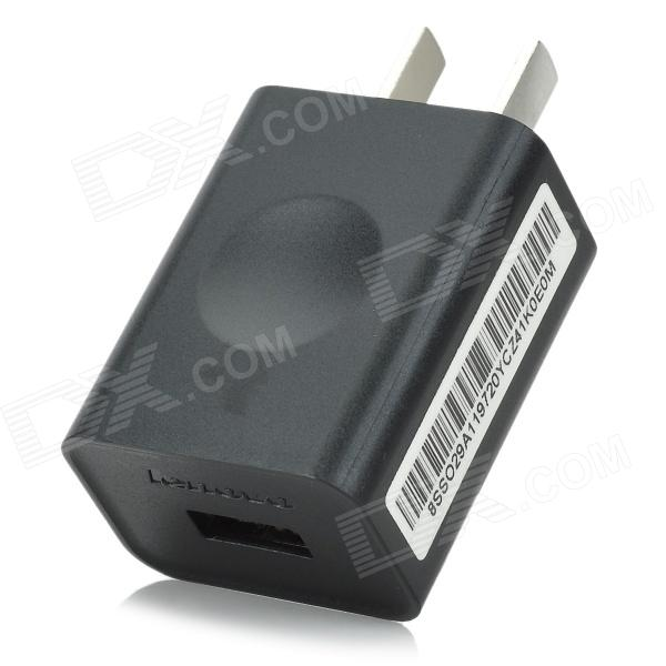 Lenovo USB 1000mA US Plug Power Adapter for Samsung - Black (100~240V) - DXAC Chargers<br>Color Black Brand Lenovo Model N/A Material Plastic Quantity 1 Piece Compatible Models Samsung Galaxy Output Current 1000 mA Input Voltage 100~240 V Output Voltage 5 V Plug Specifications US Plug (2-Flat-Pin Plug) Packing List 1 x Power adapter (100~240V)<br>