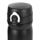 SAHOO 52469 Double Layer Stainless Steel Vacuum Thermos Bottle Flask - Black (350mL)