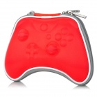 Project design shockproof protective zipper bag w/ strap for xbox one - red