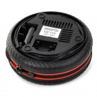 Portable Car / Bicycle / Motor Vehicle Tire Air Compressor (12V) - Black + Red + Multi-Colored