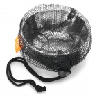 Bulin Outdoor Camping RVS Bowl w / Mesh Bag - Zilver