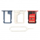 R-sim 9 Gold PVC Micro SIM Card Unlock Tool Set for IPHONE 5 / 5C / 5S - Silver + Red + Black