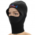 Blue Ocean 1987011 Winter Swimming Diving Hood Hat - Svart (L)