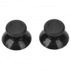 Plastic Joystick Caps for XBOX 360E Controller - Black (2 PCS)