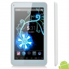 "M751 7"" Dual Core Android 4.2 Tablet PC w/ 4GB ROM / Wi-Fi / G-Sensor / TF - White"