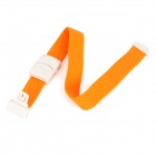 Quick Release Nylon + PP Blood Stopping Tourniquet - Orange + White