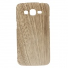 Protective Plastic Back Case for Samsung Galaxy Grand 2 G7106 - Wood