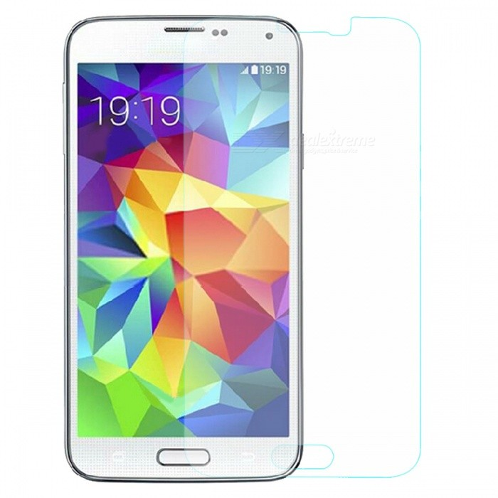 Mr. Northjoe 10809 Protective Tempered Glass Screen Protector for Samsung Galaxy S5 - Transparent mr northjoe front