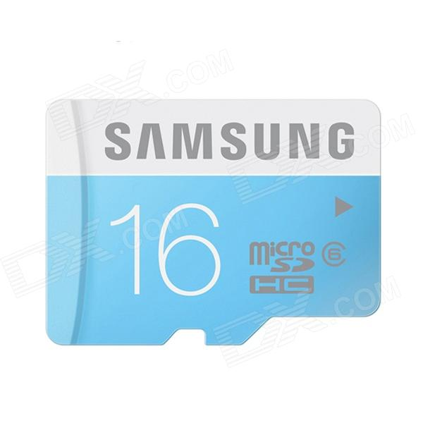 Samsung 16GB Micro SDHC  Upto 24MB/s Class 6 Memory Card (MB-MS16D)