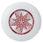 X-COM UP175 Star Professtional Ultimate PE Sports Flying Disc Frisbee  - White