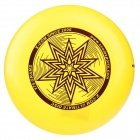 X-COM UP175 Star Professtional Ultimate PE Sports Flying Disc Frisbee - Yellow
