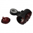 SF-BSR Double Ligne 10-LED 4-Mode Rouge Safety Bike Rear Light-Rouge + Noir (2 x AA)
