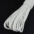 OUMILY 9-Core Survival Parachute Rope + Survival Bracelet w/ Stainless Steel Buckle - White (10M)