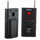 XB-68 Wireless Anti-Pinhole Camera Infrared Detectors Set - Black