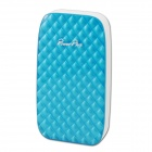 POWERPLUS X801 Portable 8000mAh Power Source Bank for Samsung / IPHONE / Nokia - White + Light Blue