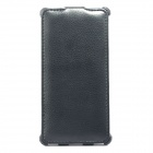 ZIQIAO SJ-HS009 Protective PU Leather Case Cover for Sony Xperia Z2 - Black