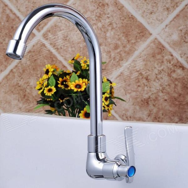 Modern Kitchen-wall Single Cold Water Faucet - Silver