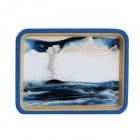 3D Quicksand Painted Mirror Home Furnishing Articles The Hourglass Quicksand Landscape Painting