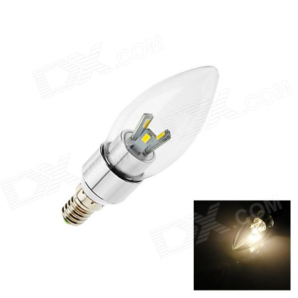 GCD E14 5W 250lm 3000K 6 x SMD 5630 LED Warm White Light Lamp Bulb - White (AC 85-265V) e14 5w 110lm 3000k 8 smd 5630 led warm white light lamp bulb ac 85 265v