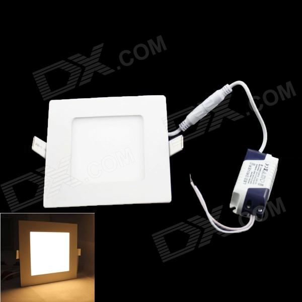 SKLED Square Ultra-slim 15W 1320lm 3000K 75 x SMD 3528 LED Warm White Ceiling Lamp - (AC 85~265V) kinfire square shaped 15w 1320lm 75 smd 3528 led white light ceiling lamp w driver ac 85 265v