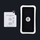 Itian QI Standard Mobile Wireless Power Charger + Samsung Galaxy S5 Wireless Charger Receiver -Black