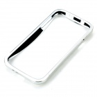 Coulissant aluminium alliage pare-chocs châssis de protection pour Samsung Galaxy SIII i9300 - Silver