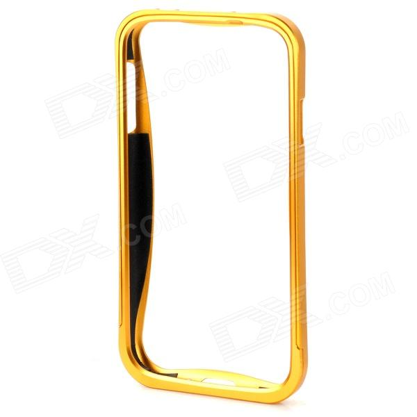 Pull-out Protective Aluminum Alloy Bumper Frame for Samsung Galaxy SIII i9300 - Golden