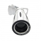 Detachable 12X Telephoto Lens Set for IPHONE 4 / 4S / 5 / 5S - Silver