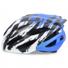 MOON HB-31 Protective Outdoor Cycling Bike Helmet - White + Blue