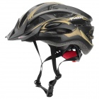 MOON MV-88-GJ Outdoor Cycling Bike Helmet - Black + Golden (Size XL)