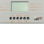 "TWP MTTP-30 2.4"" LCD 30A 360W / 720W Solar Panel Regulator Charge Controller - Gray (12 / 24V)"