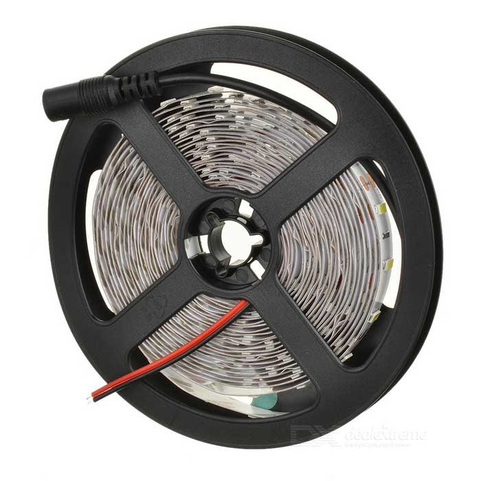 90W 7500lm 300-LED Bluish White Decoration Light Strip Kit 5m