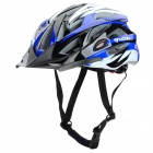 MOON MV-29 Protective Outdoor Sports Cycling Bike Helmet - Black + Blue