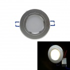 IN-Color YS-3x1W 3W 300lm, 3000K, 6 x 5730 SMD LED Warm White Light Deckenleuchte - (AC 85 ~ 265V)