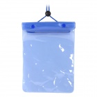 Handy Waterproof PVC Storage Carrying Bag - Blue