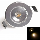 HESION HS02001C 1W 90lm 3500K 1-LED Warm White Ceiling Light / Spotlight - (85~265V)