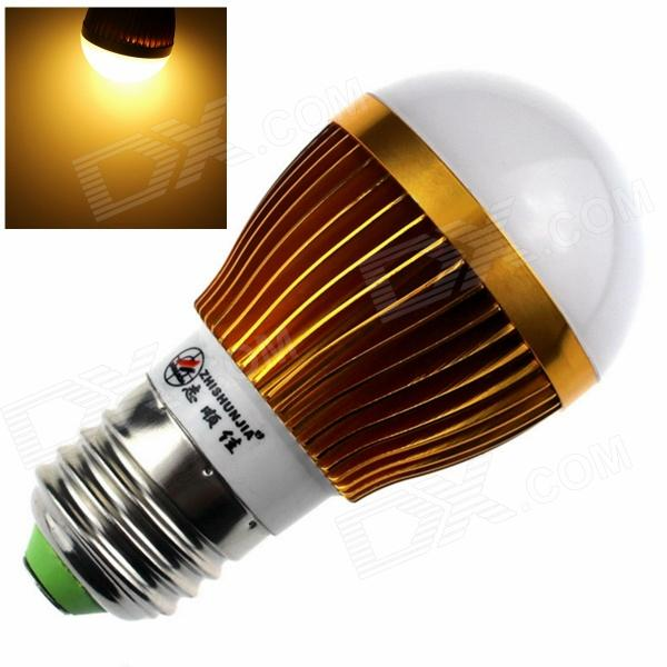 ZHISHUNJIA E27 8W 680lm 3000K 16 x SMD 5630 LED Warm White Light Bulb - (85~265V)