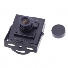 "Mini HD 700TVL 1/3"" 3.6mm Lens CCTV Security FPV Color Camera - Black"