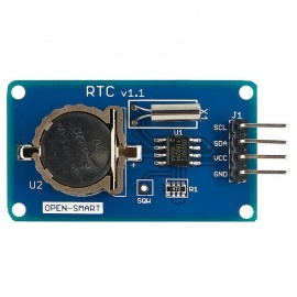 RTC v1.1 DS1307 Real Time Clock Module w/ I2C - Blue
