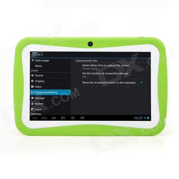 "iRulu AK717 7"" Android 4.0 Tablet PC w/ 512MB RAM, 8GB ROM, Dual-Camera, Keyboard Case for Kids"