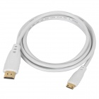 Apower-link HDMI 1.4 Male to Mini HDMI Male Connection Cable - White (1.5m)