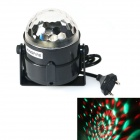 KindFire 6-color Spider Net Magic Auto RGB LED Ball Light for Party - Black