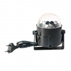 KindFire 6-farge Spider netto magiske Auto RGB LED Ball lys for Party - svart