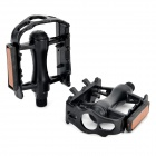 Bicycle Anti-slip Aluminum Alloy Pedals - Black (2 PCS)
