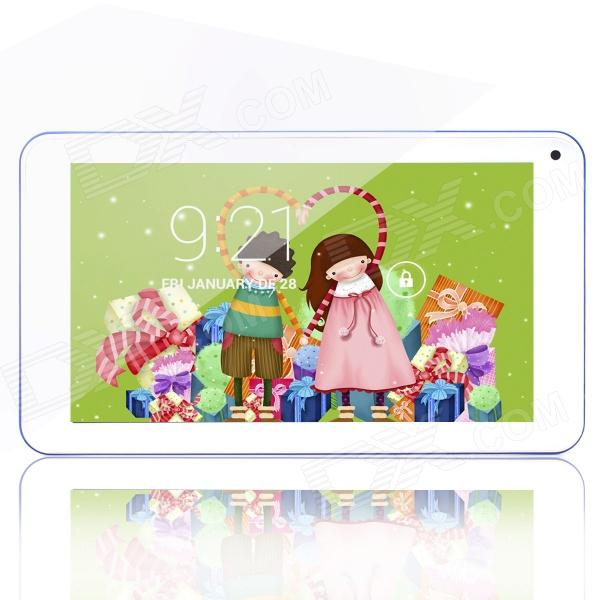 "PORTWORLD AM731 7"" Dual Core Android 4.2.2 Tablet PC med 512MB RAM, 4 GB ROM - blå + hvit"