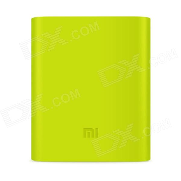 Protective Case for Xiaomi Mobile Power Bank 10400mAh - Green original xiaomi 10000mah power bank silicone case charger protector cover white
